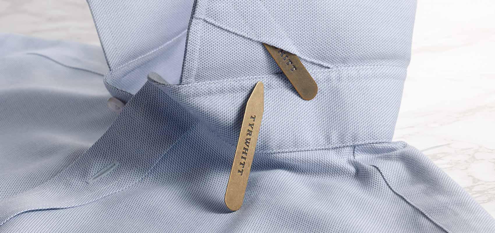 Charles Tyrwhitt collar stiffeners