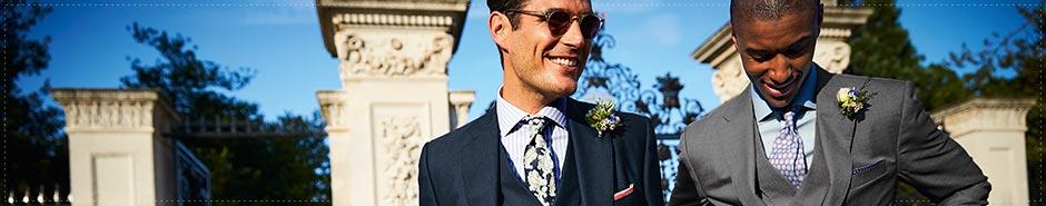 Charles Tyrwhitt wedding wardrobe