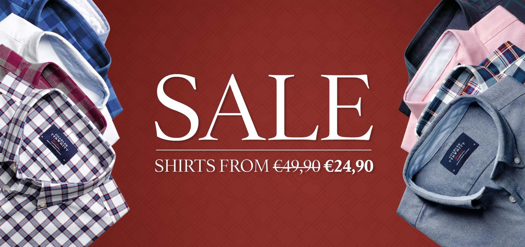 Charles Tyrwhitt Casual Shirt Sale