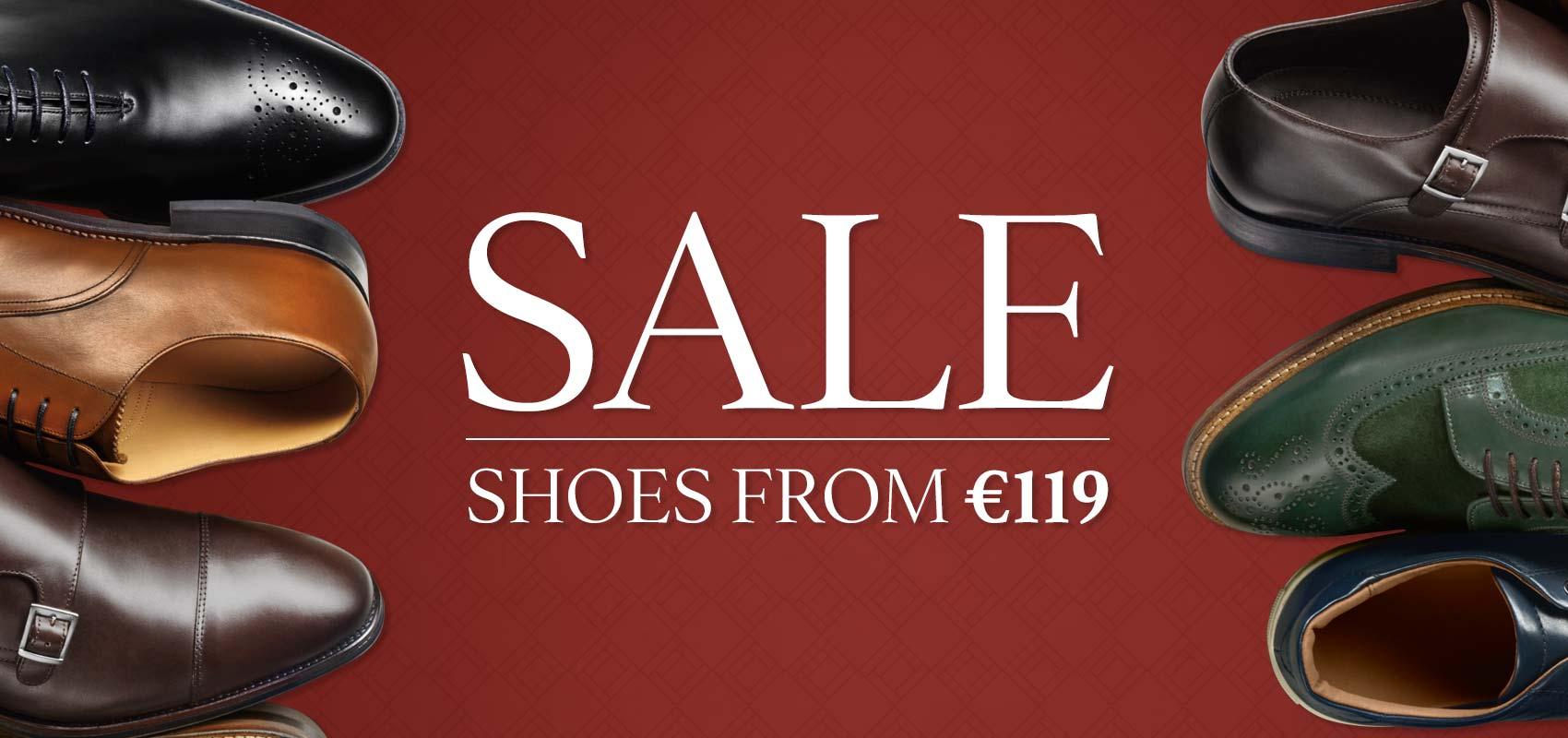 Charles Tyrwhitt men's shoe sale