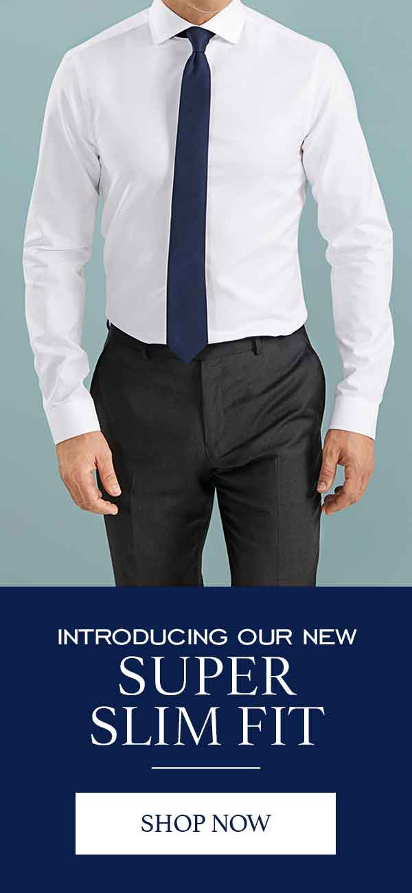 Super slim fit shirts