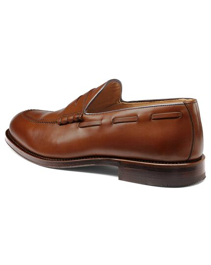 Penny Loafer in Gelbbraun