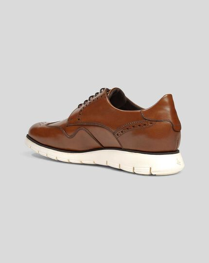 Hybrid Sneaker - Tan