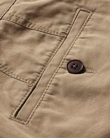 Tan chinos shorts