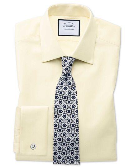 Cravate classique bleu marine et blanche à fleurs