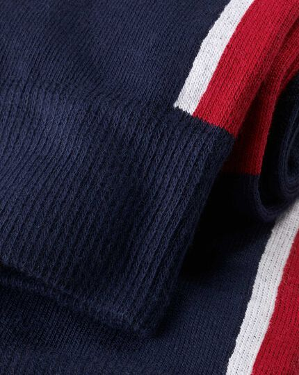Union Jack Socks - Navy