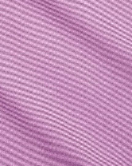 Non-Iron Twill Shirt - Violet