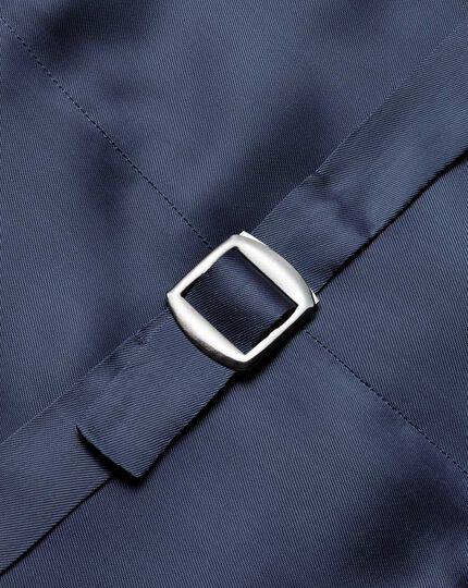 Verstellbare italienische Luxusanzug-Weste in Blau