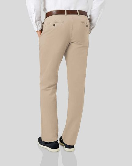 Soft Washed Chinos  - Natural