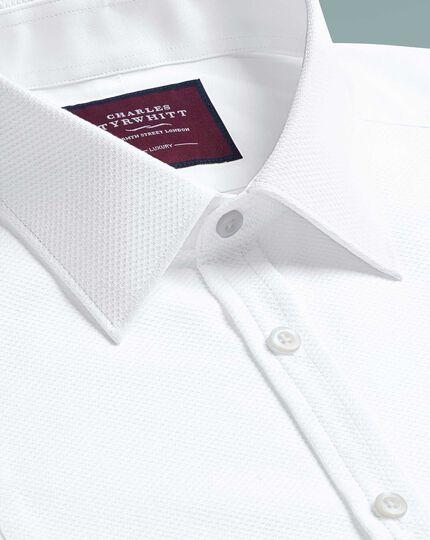 Super slim fit marcella bib front evening white shirt