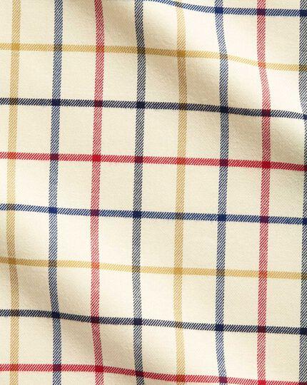 Classic Fit Hemd in Rot und Blau mit Country-Karos