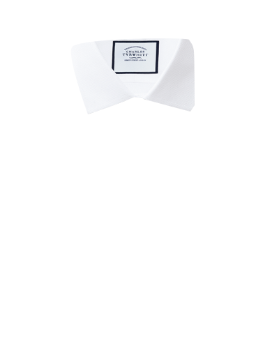 7668069cc8d9 Classic fit non-iron white arrow weave shirt