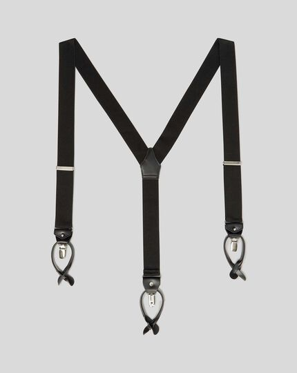 Combination Suspenders - Black
