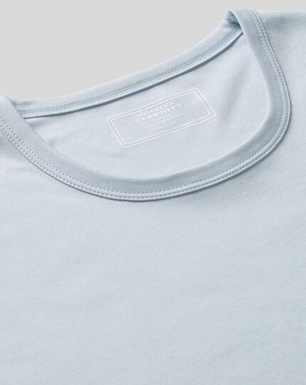 Smart Jersey Tyrwhitt T-shirt - Ice Blue