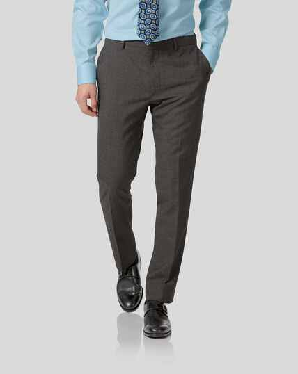 Business Suit Pants - Grey