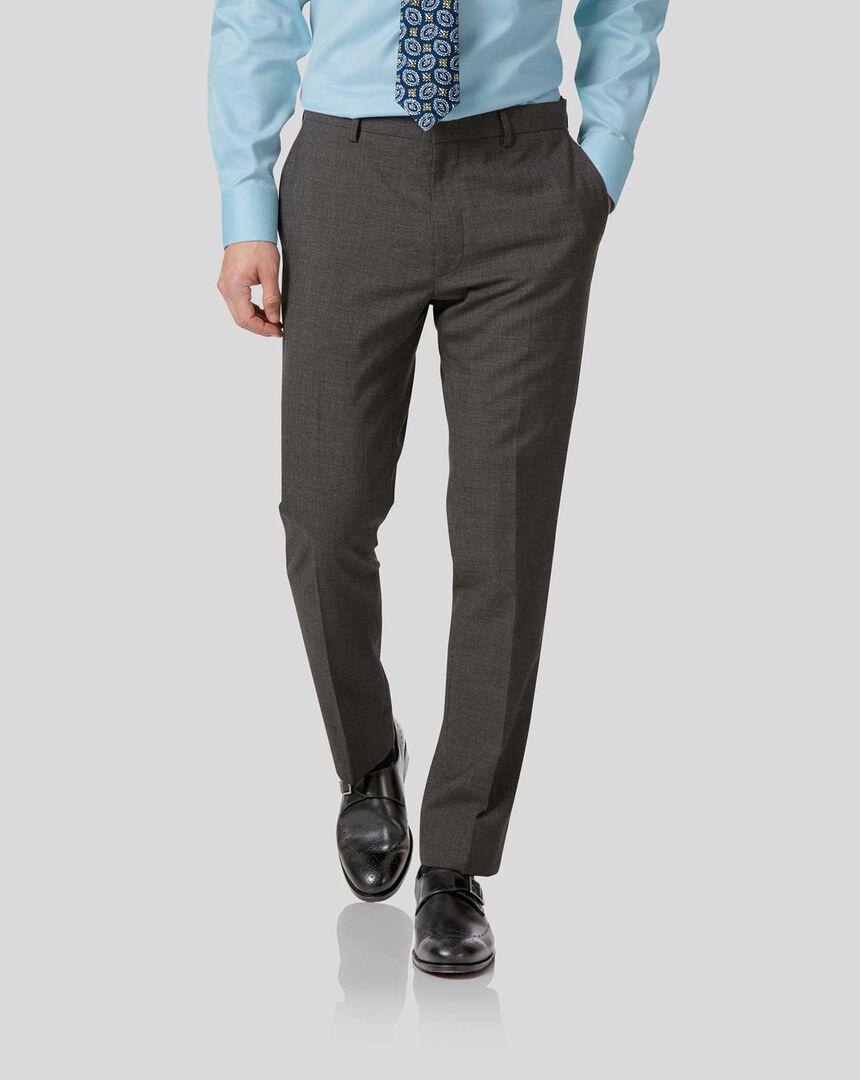 Business Suit Pants - Grey