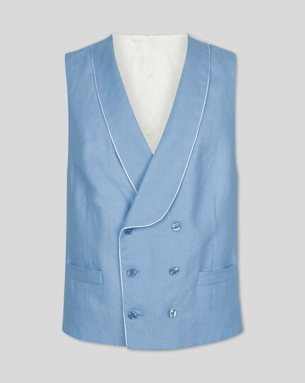 Morning Suit Vest - Blue