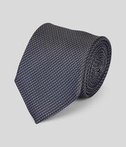 Klassische Krawatte aus Seide - Grau