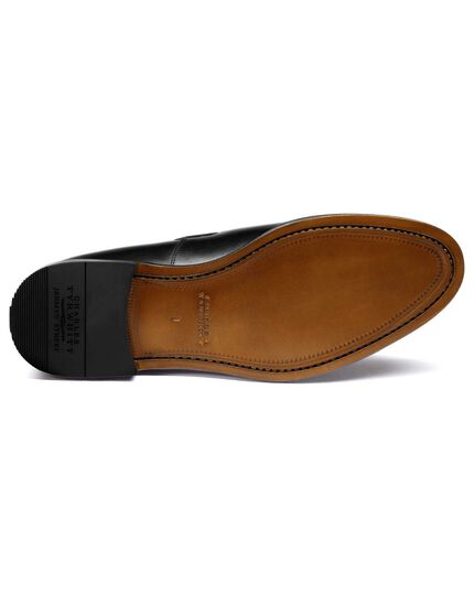Black Keybridge tassel loafers