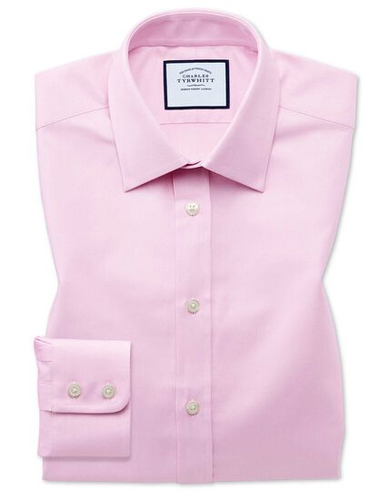 Egyptian Cotton Royal Oxford Shirt - Pink