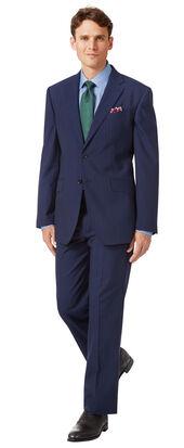 Navy classic fit Panama stripe business suit