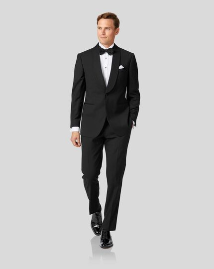 Shawl Collar Tuxedo - Black