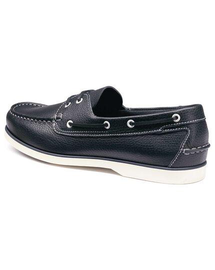 Chaussures bateau bleu marine