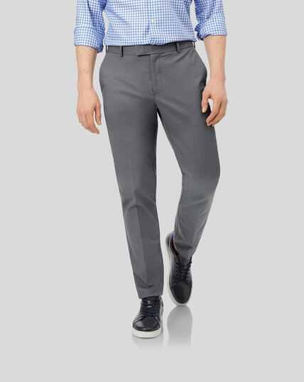 Pantalon chino sans repassage - Gris