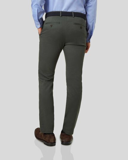 Ultimate Non-Iron Chinos - Dark Green