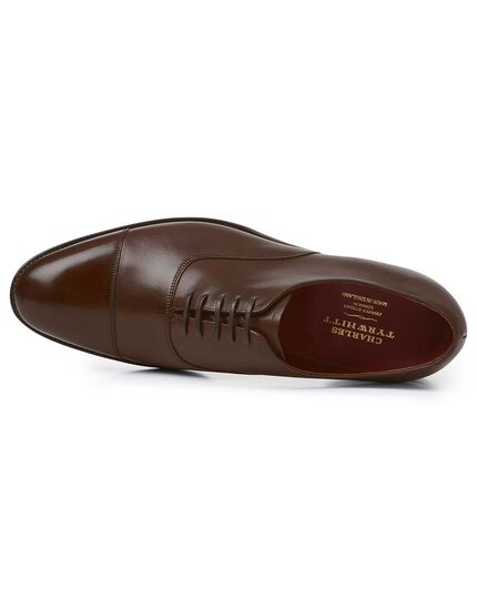 Chocolate Made in England Oxford flex sole shoes