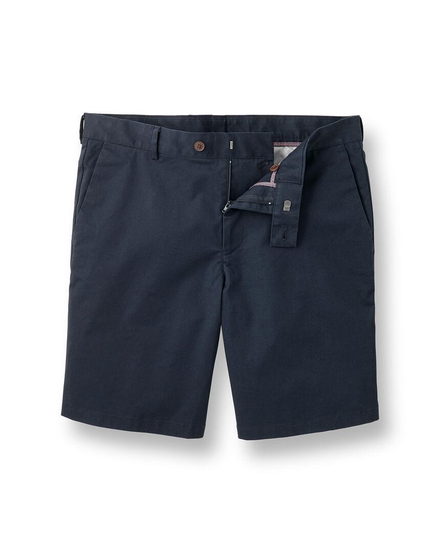 Chino-Shorts - Marineblau