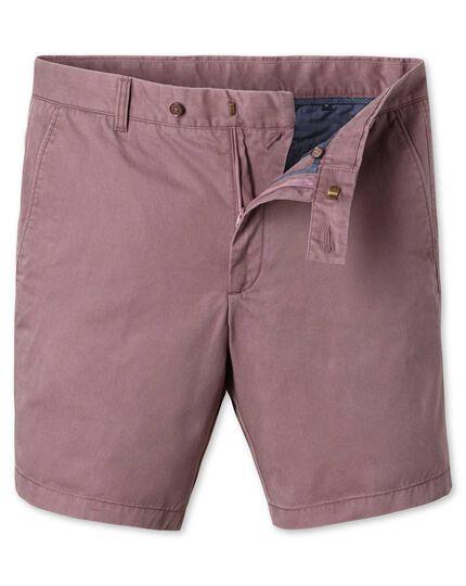 Light pink chino shorts