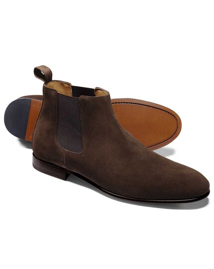 Chocolate Chelsea boot