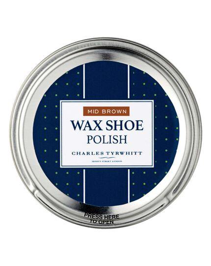 Brown shoe polish