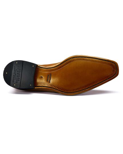 Tan Soho Derby shoes