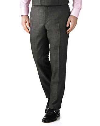 Pantalon de costume de cérémonie gris foncé slim fit