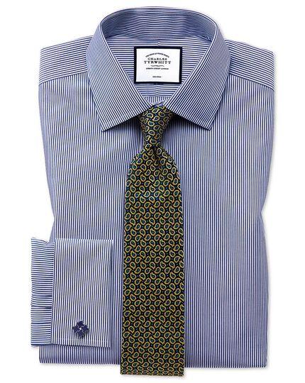 Gold silk paisley classic tie