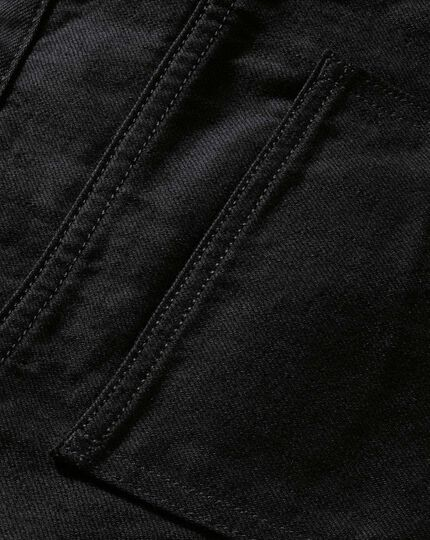 Black slim fit 5 pocket jeans