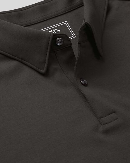 Smart Jersey Polo - Charcoal