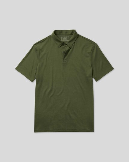 Smart Jersey Polo - Green