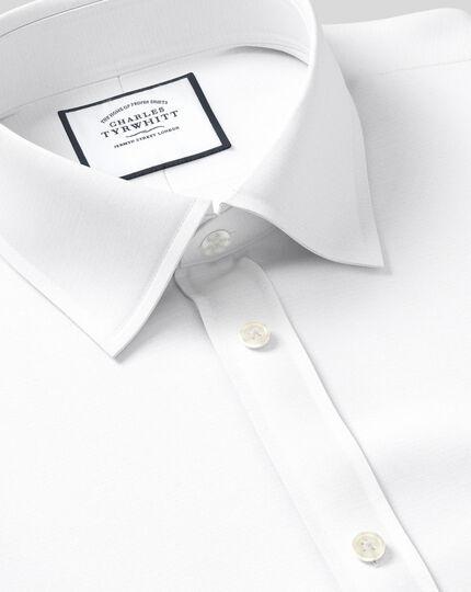 Classic Collar Poplin Shirt - White