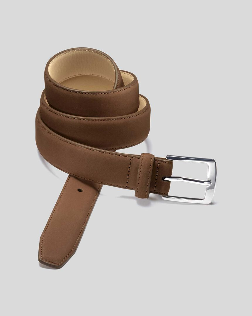 Nubuck Belt - Tan
