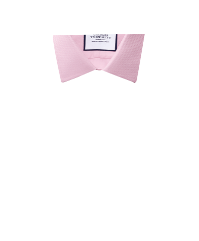 Bügelfreies Super Slim Fit Arrowweave-Hemd in Rosa