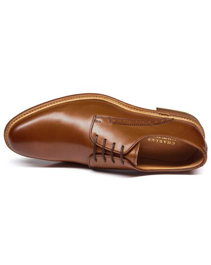 Tan Lambourne Derby shoes