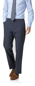 Blue Panama classic fit British suit