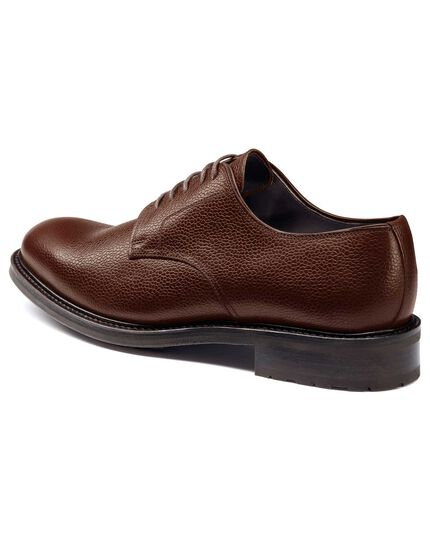 Brown Otterham Derby shoes