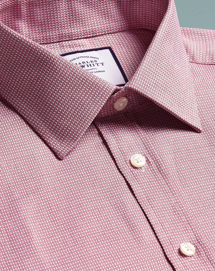 Egyptian Cotton Chevron Shirt - Pink