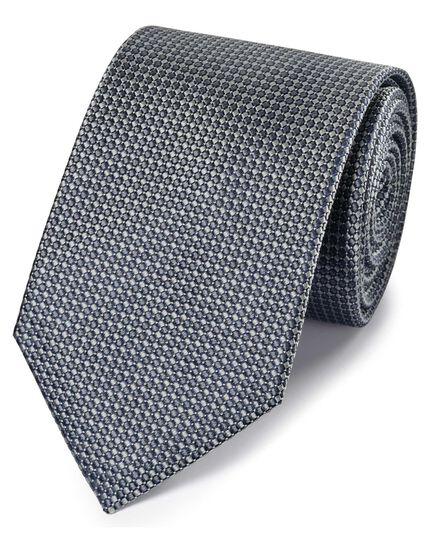 Klassische Krawatte Seide in Grau