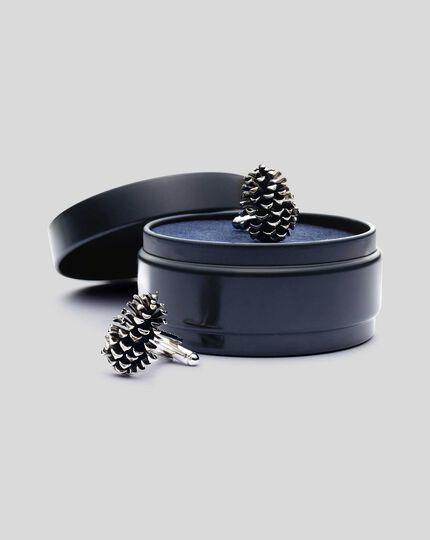 Pine Cone Cufflinks