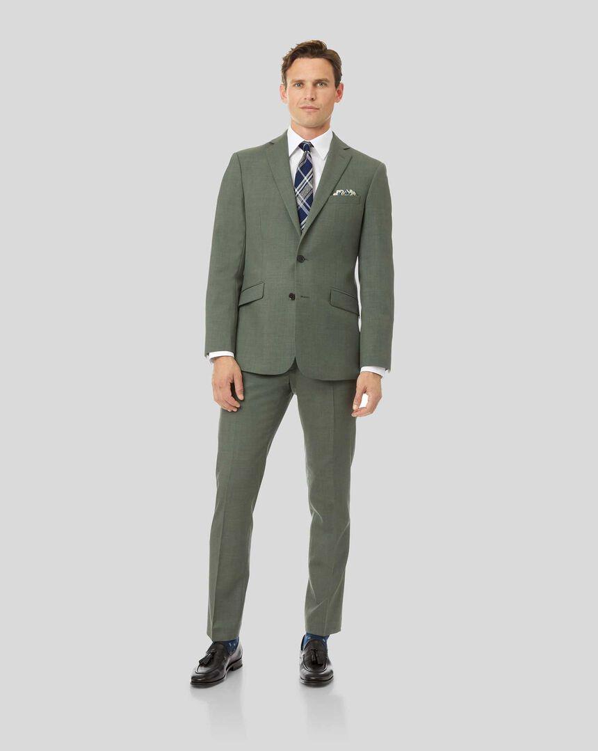 Merino Business Suit - Green